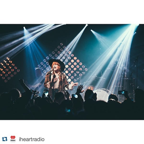 Photo taken at iHeartRadio Theater by Marc R. on 6/4/2015