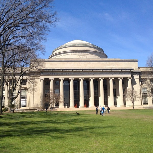 Photo taken at Massachusetts Institute of Technology (MIT) by Kotya Z. on 4/20/2014