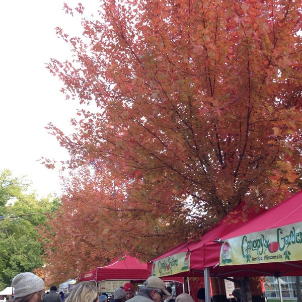 Photo taken at Dane County Farmers' Market by sama_rama on 10/26/2013