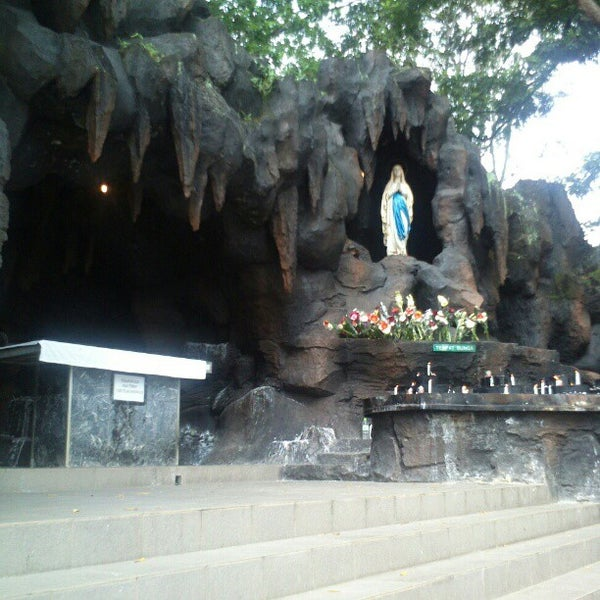Photo taken at Gua Maria Kerep by Dennis K. on 12/30/2012