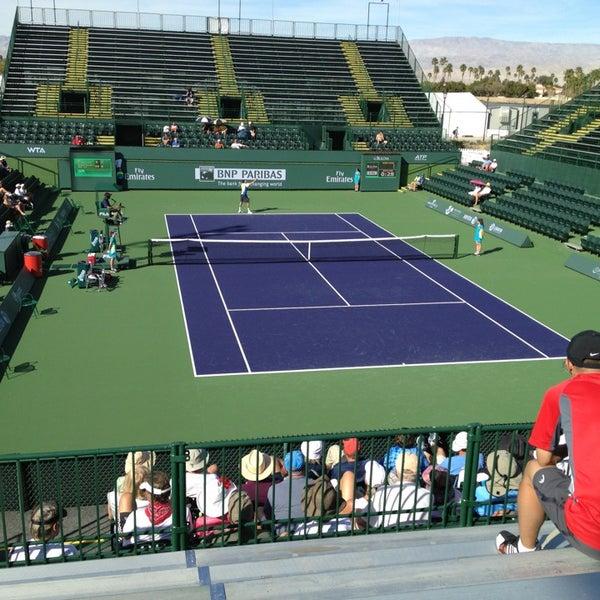 Photo taken at Indian Wells Tennis Garden by Ken G. on 3/2/2013