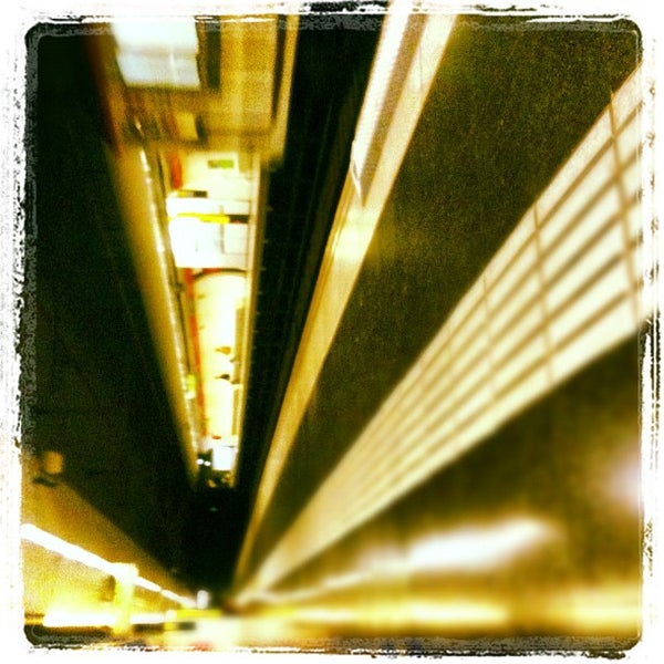 Photo taken at METRO Plaça de Sants by Alexis B. on 12/8/2012