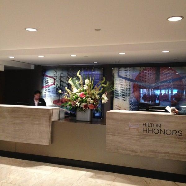Photo taken at DoubleTree by Hilton Hotel Metropolitan - New York City by Cihan K. on 5/25/2013