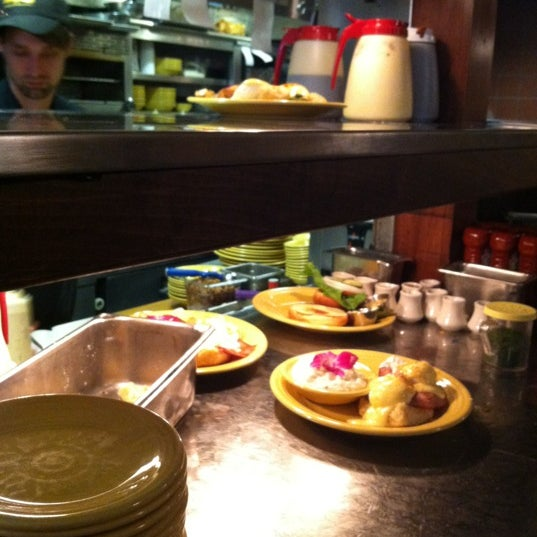 Photo taken at Tupelo Honey Cafe by Sarah E. on 10/27/2012