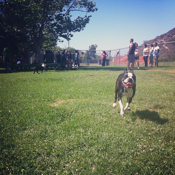 Photo taken at Laguna Canyon Dog Park by Brigid J. on 6/16/2013