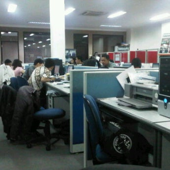 Photo taken at PT. Topjaya Sarana Utama (TSU) Head Office by Sony P. on 10/2/2012