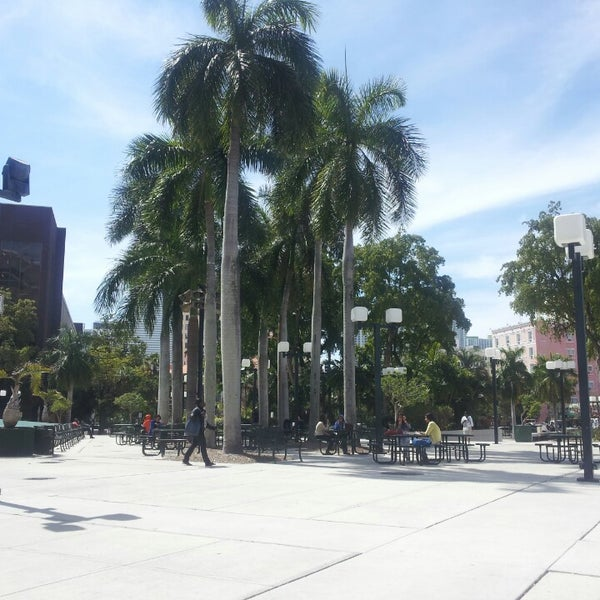 Photo taken at Miami Dade College Wolfson Campus by James E. on 3/13/2013