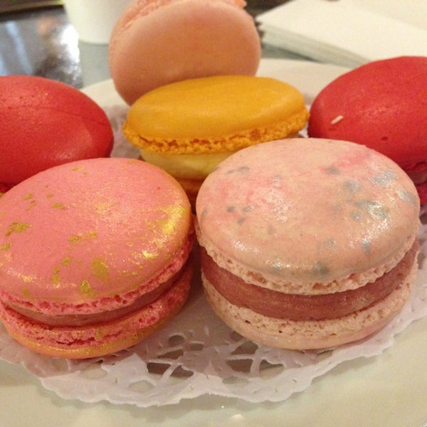 Photo taken at La Maison du Macaron by Kate P. on 4/22/2014