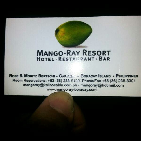 Photo taken at Mango Ray by Jenny N. on 4/14/2014