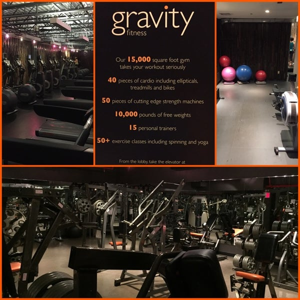 Gravity fitness spa theater district 10 tips for Gravity salon
