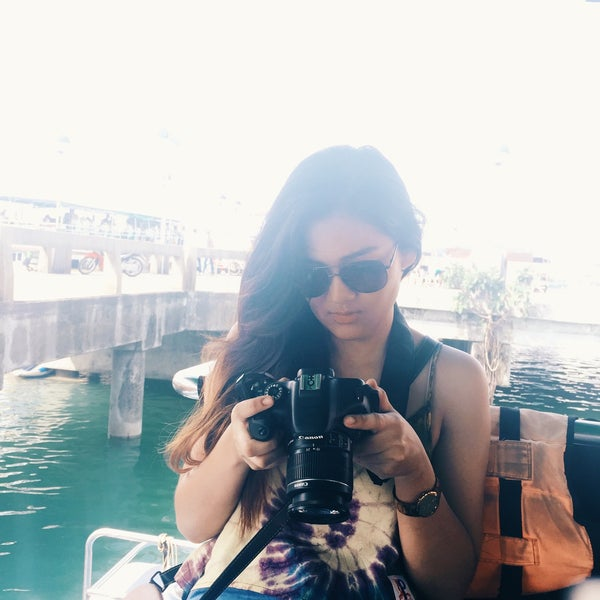 Photo taken at Ao Por Pier by Namtan J. on 5/7/2016