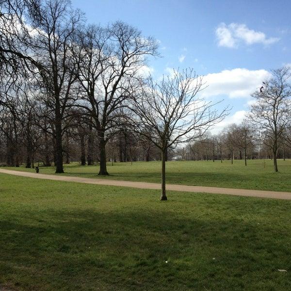Photo taken at Kensington Gardens by Maurizio P. on 4/6/2013