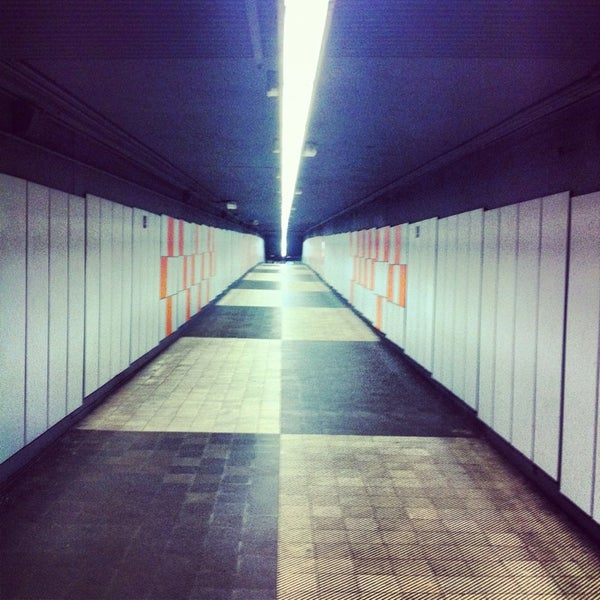 Photo taken at METRO Plaça de Sants by Aitzol B. on 1/30/2013