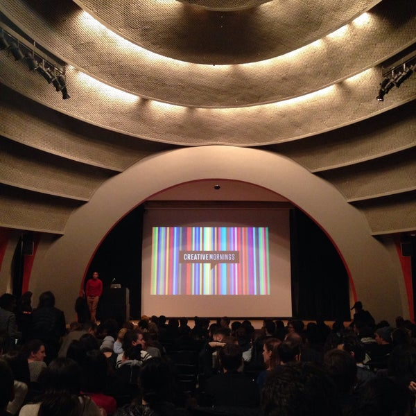 Photo taken at The New School Auditorium at 66W 12th by Nate S. on 12/5/2014