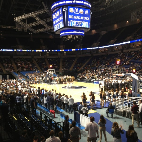 Photo taken at Bryce Jordan Center by John T. on 2/15/2013