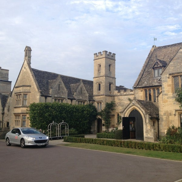 Photo taken at Ellenborough Park by Carlos V. on 9/5/2013