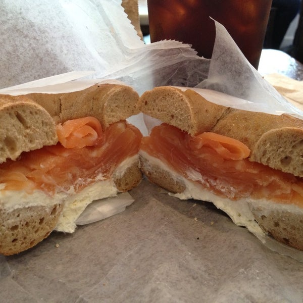 Photo taken at Murray's Bagels by Teresa H. on 6/28/2013