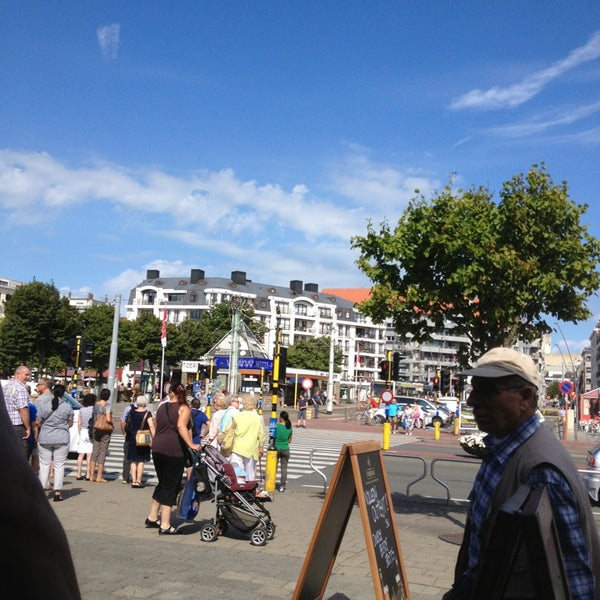 Photo taken at Station Blankenberge by Alex D. on 8/4/2013