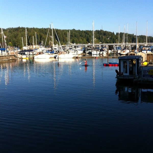 Photo taken at Gig Harbor Waterfront by David Z. on 9/2/2013