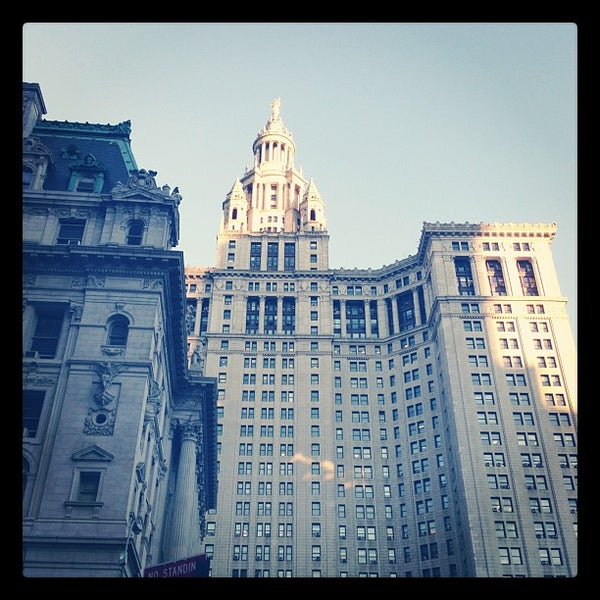 Photo taken at NYC Municipal Building by Brent G. on 10/11/2012