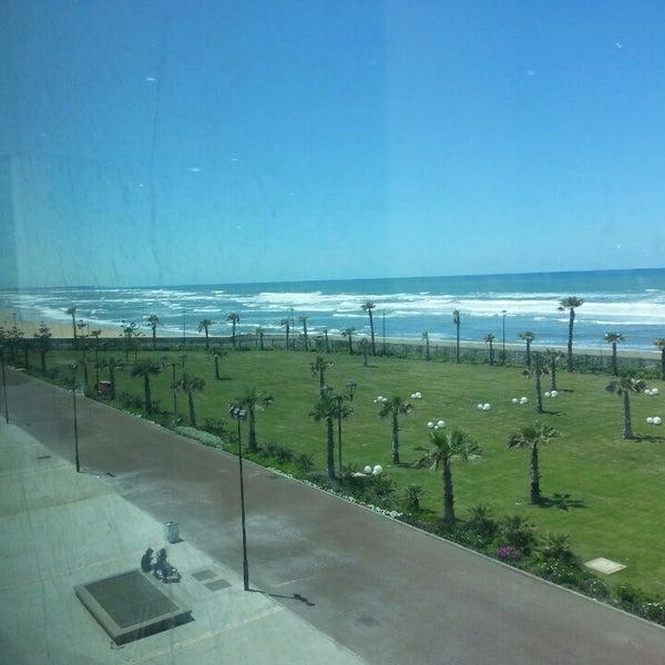 Photo taken at La Corniche de Casablanca by Demir on 4/30/2013