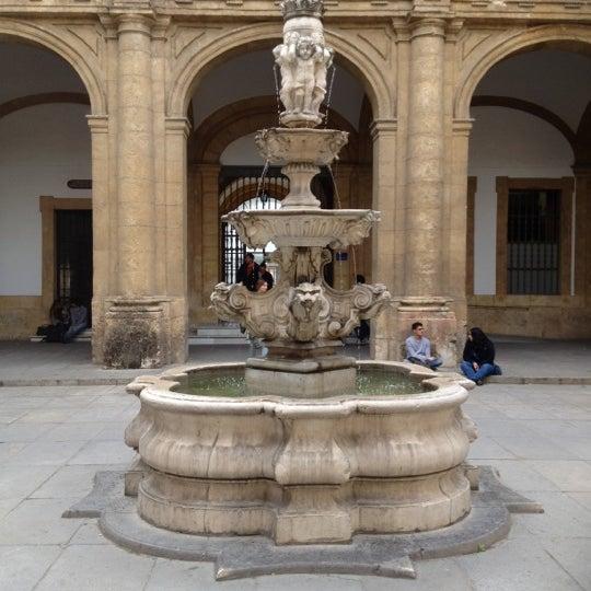 Photo taken at Facultad de Filología by Fco Javier M. on 4/13/2012