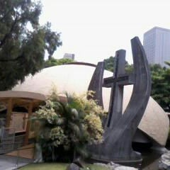 Photo taken at Sto. Niño de Paz Community Chapel by shirley m. on 5/16/2012