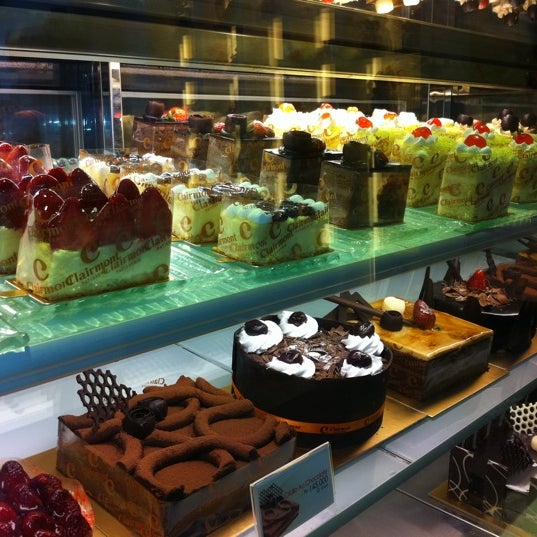 Photo taken at Clairmont Patisserie by Noni A. on 4/9/2012