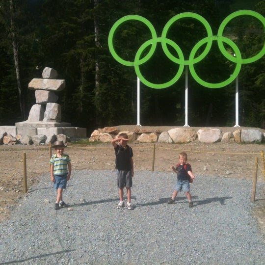Photo taken at Cypress Mountain Ski Area by Carson M. on 7/29/2012