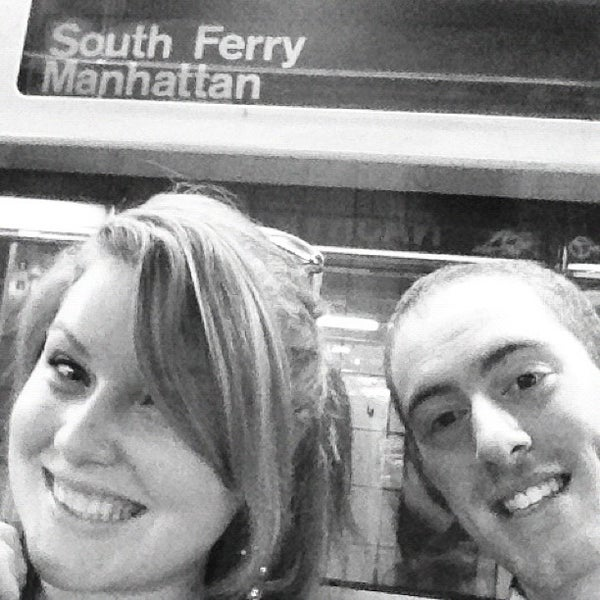 Photo taken at MTA Subway - South Ferry (1) by Corey on 9/3/2012
