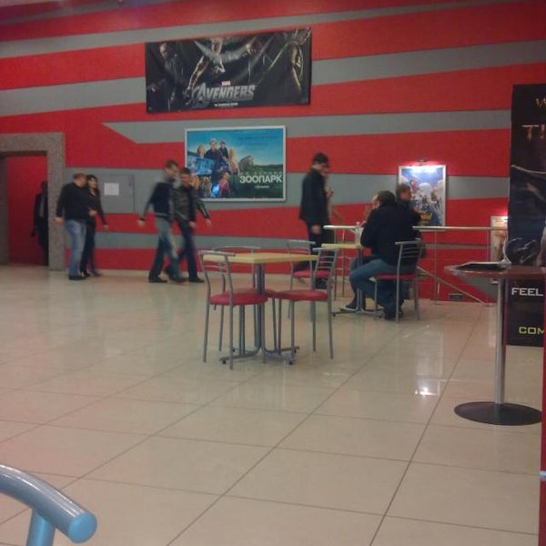 Photo taken at Кінотеатр ім. О. Довженка by No name on 4/15/2012