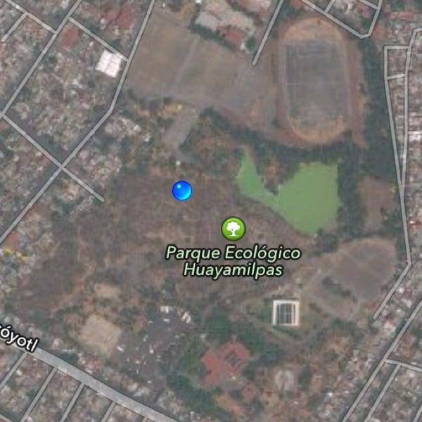 Photo taken at Parque Ecologico Huayamilpas by Ari O. on 3/21/2013