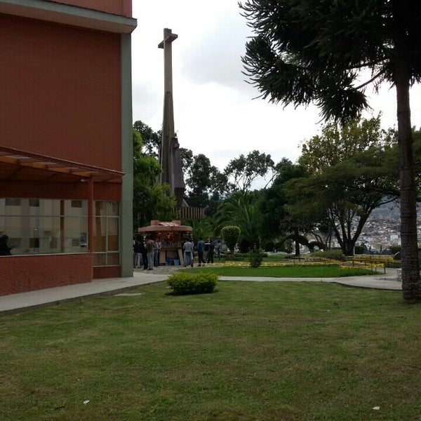 Photo taken at Universidad Técnica Particular de Loja by Juan L. on 6/17/2015