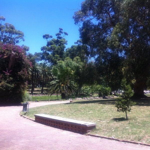 Photo taken at Parque José Enrique Rodó by Evandro M. on 1/4/2015