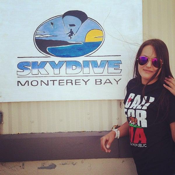 Photo taken at Skydive Monterey Bay by Svetlana K. on 8/1/2013