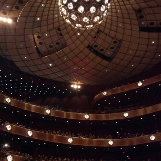 Photo taken at New York City Ballet by Jordan K. on 1/31/2013