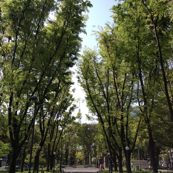 Photo taken at 久屋大通公園 リバーパーク by Shimotomania on 4/19/2013