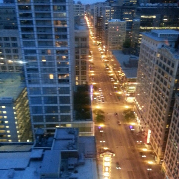 Photo taken at theWit Chicago - A DoubleTree by Hilton Hotel by Carol on 6/5/2013
