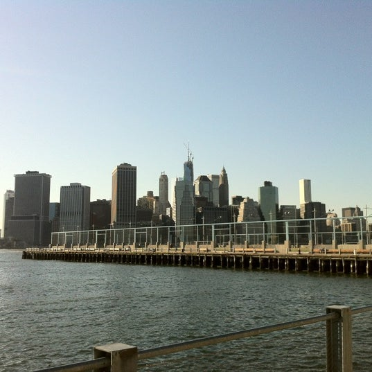 Photo taken at Brooklyn Bridge Park - Pier 6 by Andrew G. on 5/14/2013