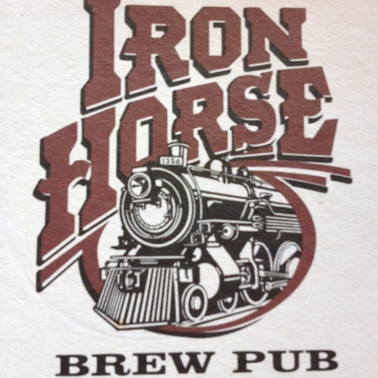 Photo taken at Iron Horse Brew Pub by Joe C. on 5/24/2012