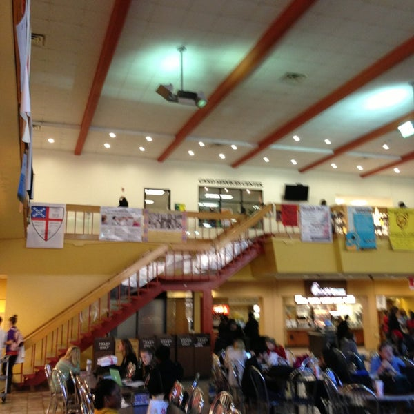 Photo taken at Carmichael Student Center by Clarence Y. on 3/19/2013