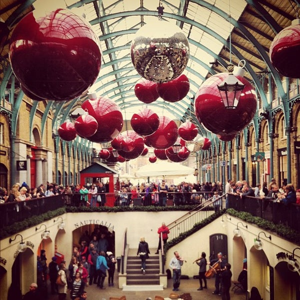 Photo taken at Covent Garden Market by Magnus S. on 10/31/2012