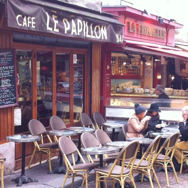 Cafe Le Papillon Paris France