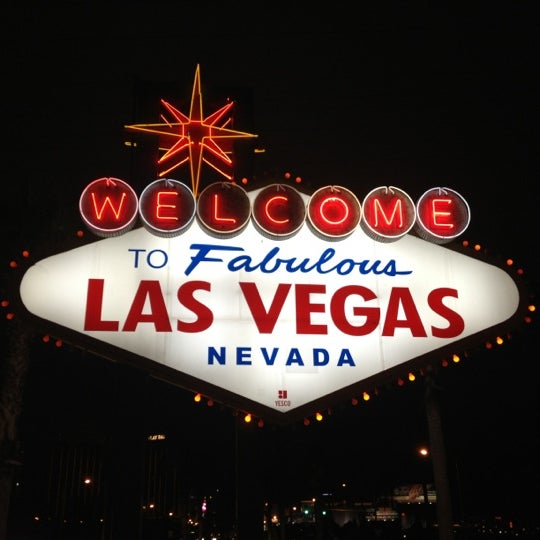 Photo taken at Welcome To Fabulous Las Vegas Sign by Focus M. on 12/15/2012