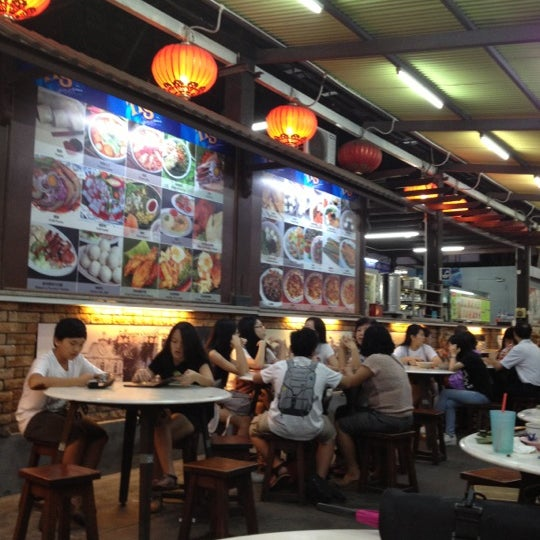 Newton Food Court Melaka