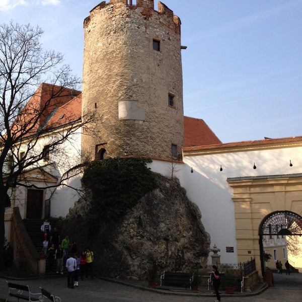 Photo taken at Zámek Mikulov by Petr J. on 3/30/2014
