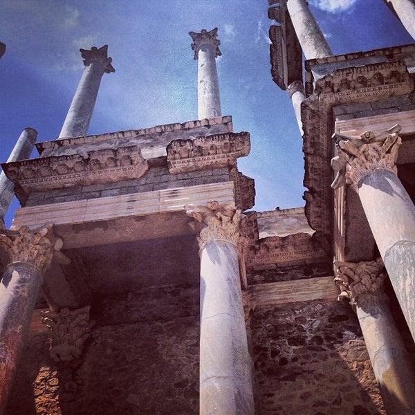 Photo taken at Anfiteatro Romano by Cristian R. on 7/28/2013