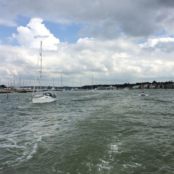 Photo taken at Hamble Point Marina by Kc C. on 6/14/2014