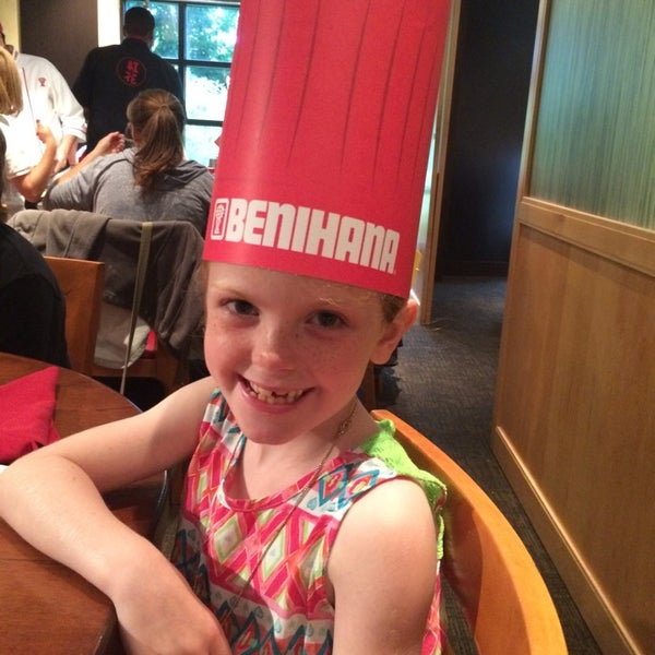 Photo taken at Benihana by Christina J. on 6/14/2014