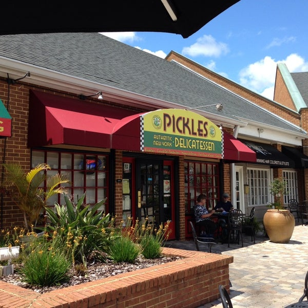 Photo taken at Pickles New York by Joy S. on 4/19/2014
